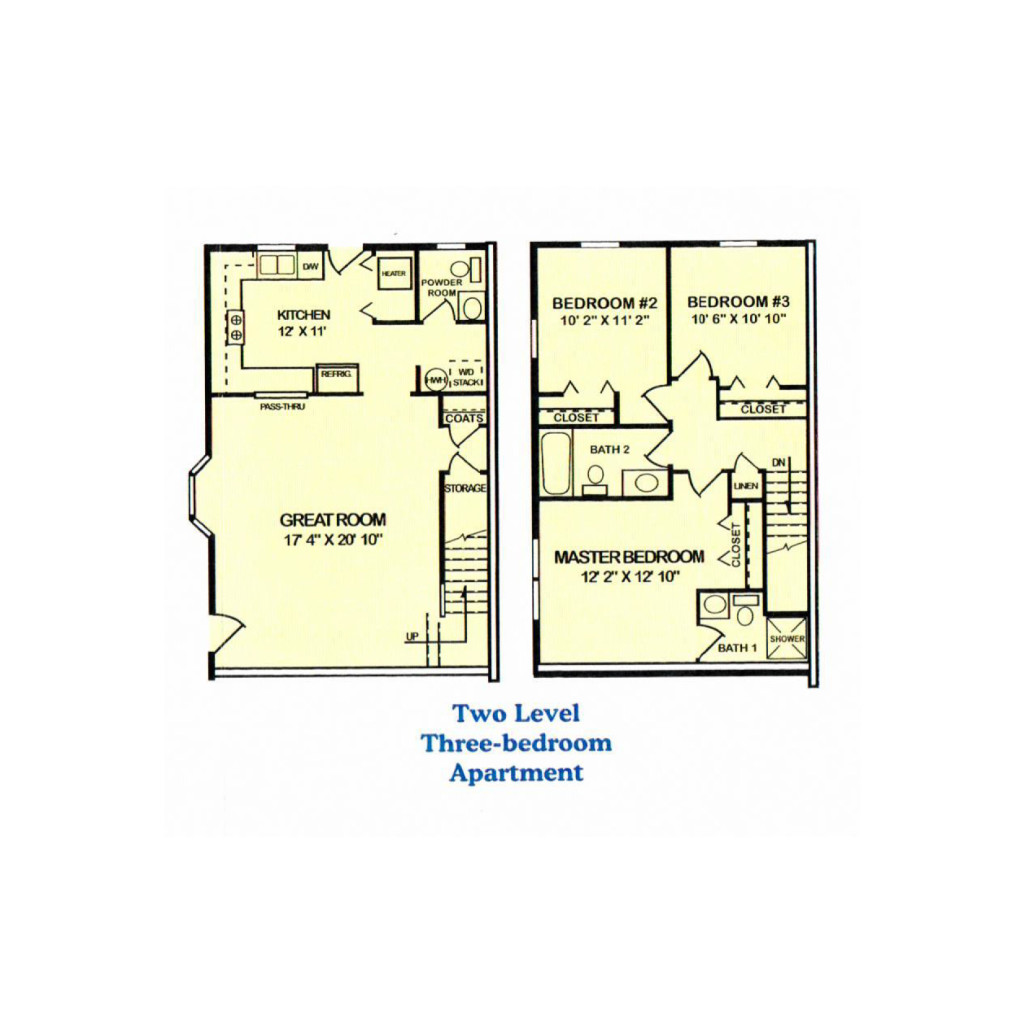 100 two level floor plans the two level apartments in a suburb of sydney 50 howard street - Two floor house plans collection ...